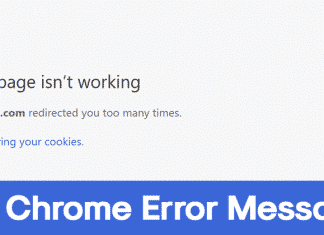 How To Fix 'ERR_TOO_MANY_REDIRECTS' Chrome Error Message
