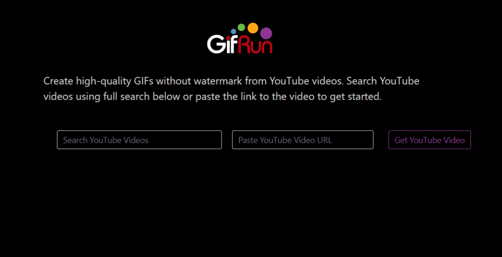 GiFRun 1024x526 - How To Create GIFs From YouTube Videos