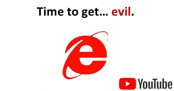 Here's The Secret YouTube Plot To KILL Internet Explorer 6