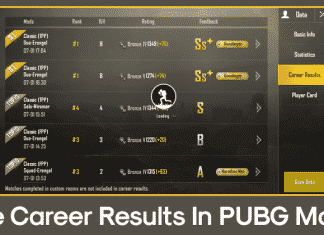 How To Hide Your Career Results In PUBG Mobile