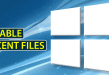 How To Remove or Disable Recent Files From Windows 10 File Explorer