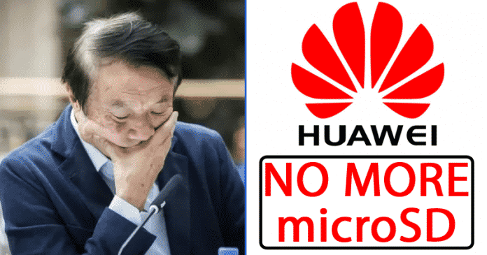 Huawei Banned From The SD Association: No More microSD