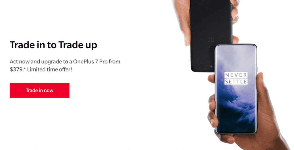 IMG 2 1024x523 - OnePlus Will Pay You For Your Old Phone To Buy OnePlus 7 Pro