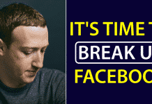 Facebook Co-Founder: It's Time To Break Up Facebook