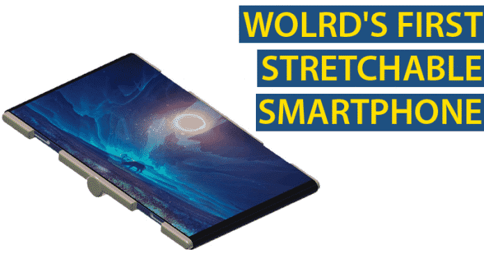 Meet The Wolrd's First Foldable & Stretchable Smartphone