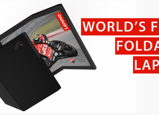 Meet The World's First Foldable Laptop