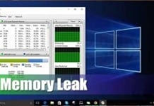 How to Fix Windows 10 Memory Leak Problem in 2020