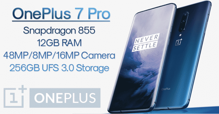 OnePlus 7 & OnePlus 7 Pro Launched - Check Out The Specs & Features