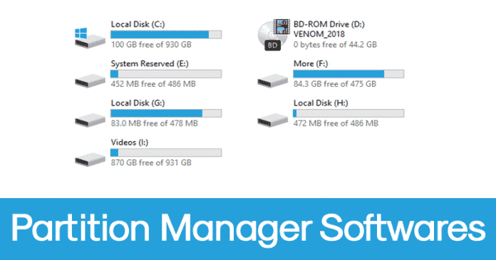 Top 5 Best Partition Manager Softwares For Windows