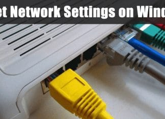How to Completely Reset Network Settings on Windows 10