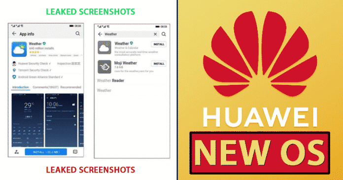 Things You Need To Know About Huawei's New OS (LEAKED Screenshots)