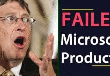 Top 10 Failed Microsoft Products That Ruined The Company's Reputation