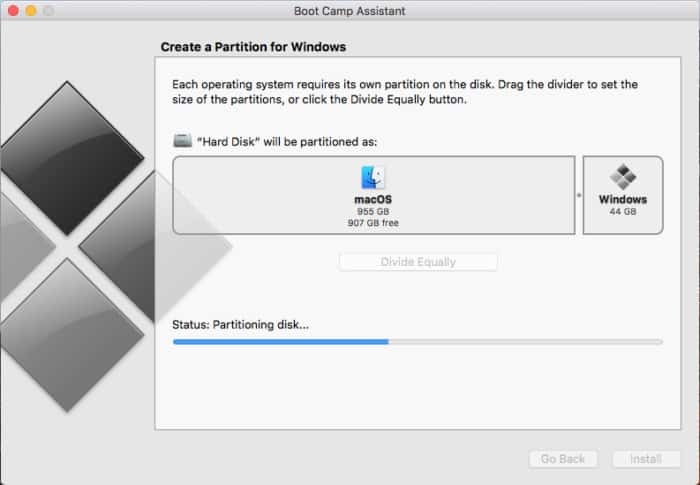 Using Boot Camp To Install Windows On MAC
