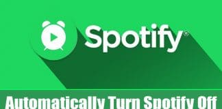 How To Automatically Turn Spotify Off After Some Time