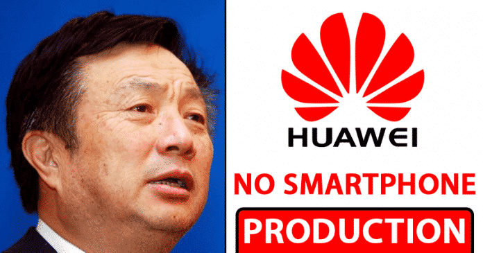BAD NEWS! Huawei Stops Smartphone Production Lines After The Ban