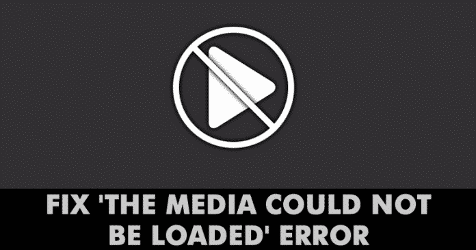 How To Fix 'The Media Could Not be Loaded' Error In Google Chrome