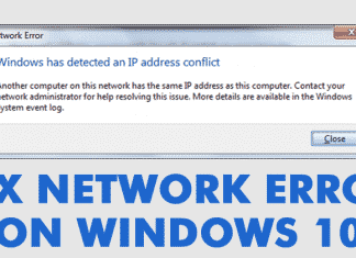 How To Fix 'Windows has detected an IP Address conflict' Error