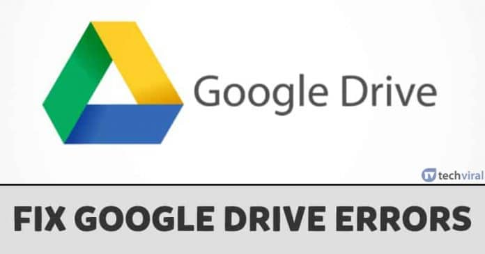 How To Fix Google Drive Unable To Connect Error
