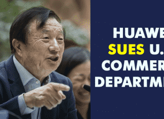 Huawei Sues the U.S. Department Of Commerce!!