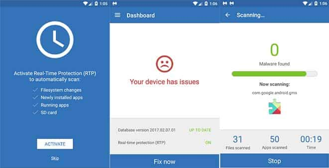 Remove Four Virus From Smartphone