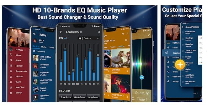 Music Player - 10 Brands Equalizer Audio Player