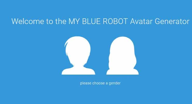 My Blue Robot