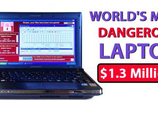 OMG! World's Most Dangerous Laptop Sold For $1.3 Million