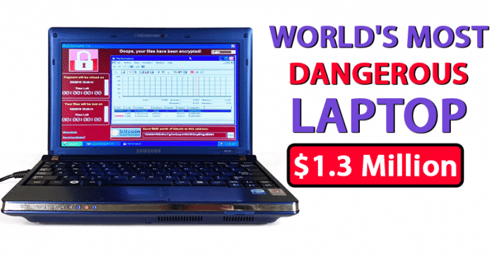 OMG! World's Most Dangerous Laptop Sold For $1.3 Million
