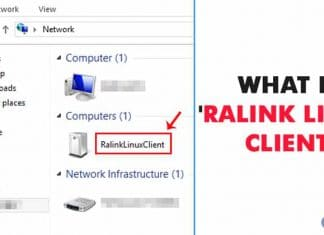 What is 'Ralink Linux Client' Showing Up In Windows Network?
