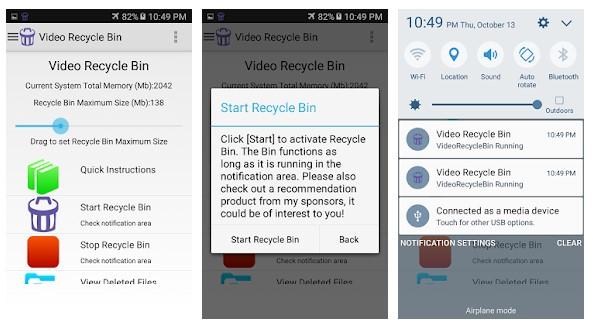 Video Recycle Bin