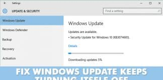 Here's What To Do If Windows Update Keeps Turning Itself Off