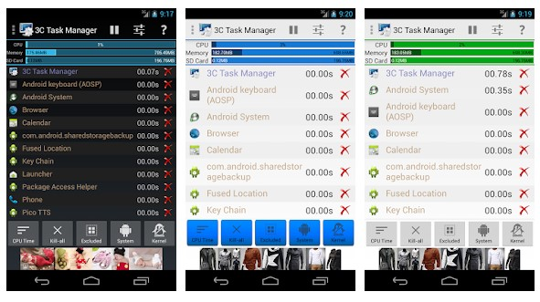 3C Task Manager