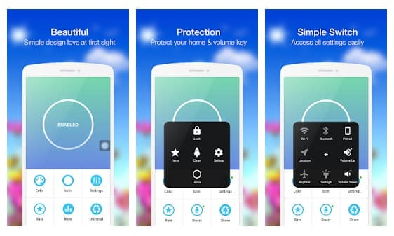 Assistive Easy Touch Android App