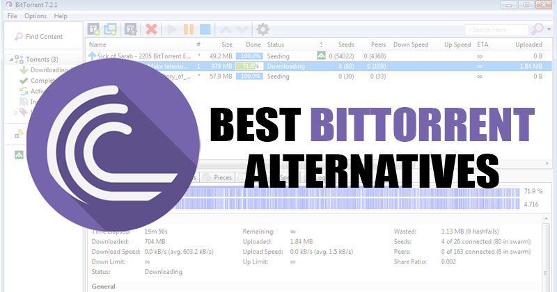 15 besten Alternativen zu BitTorrent im Jahr 2020 [Download Torrent Files] 6