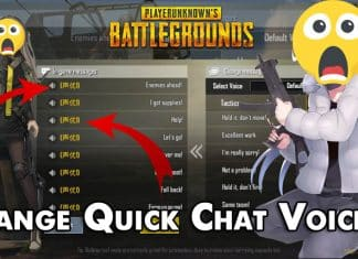 How To Change Quick Chat Voice On PUBG Mobile