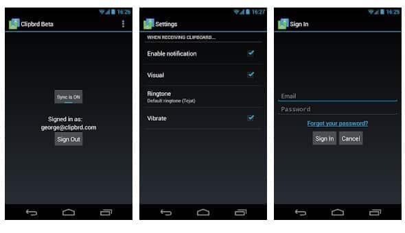 Clipbrd Android App