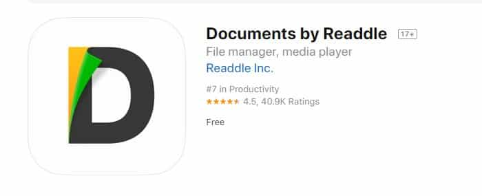 Documents by Readdle