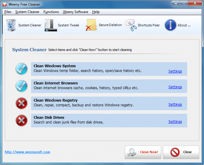 Free System Cleaner