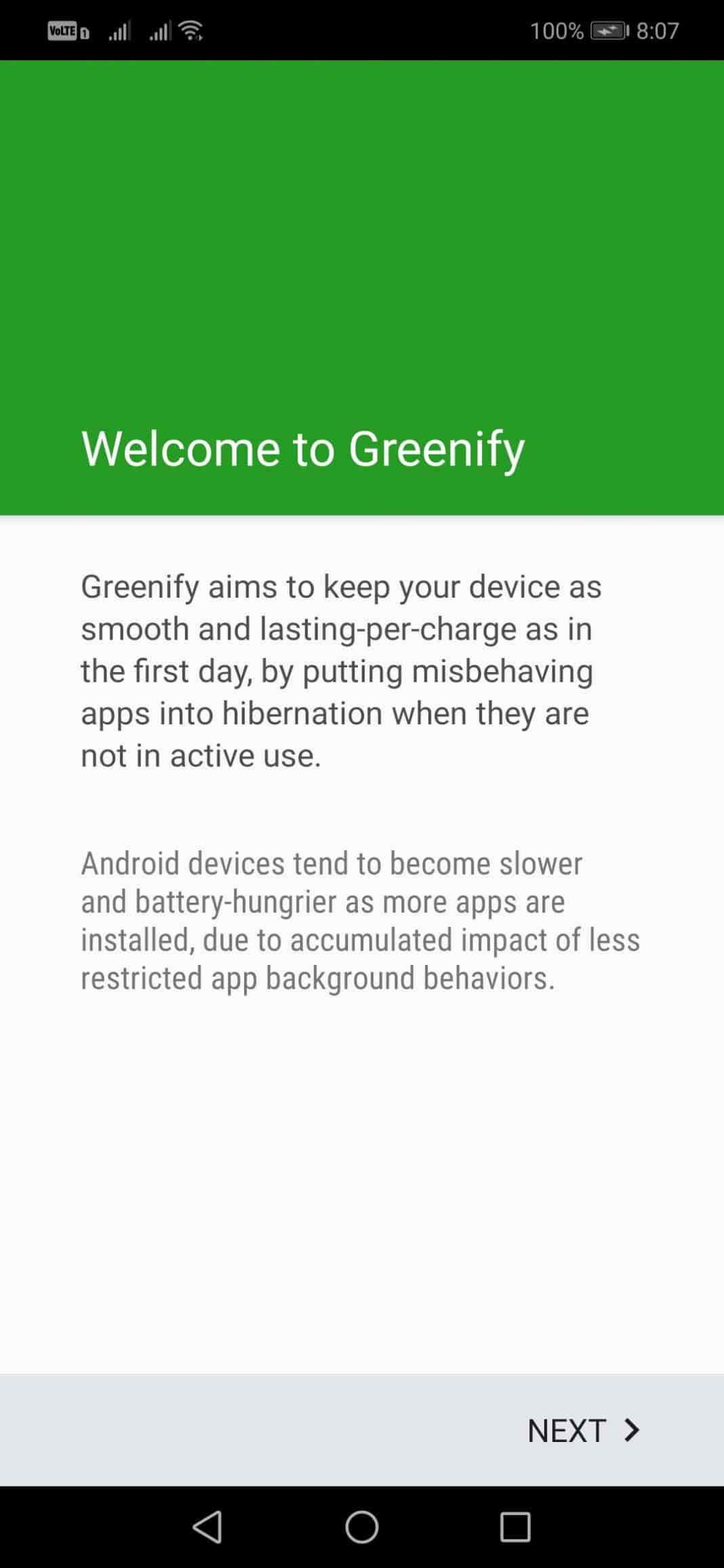 Set Up Greenify Without Root On Android