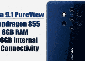 Nokia 9.1 PureView Will Feature Snapdragon 855, 8GB RAM, 256GB Internal