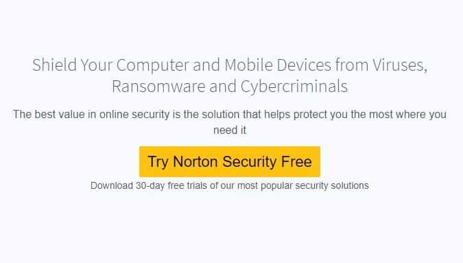 Norton Security Free