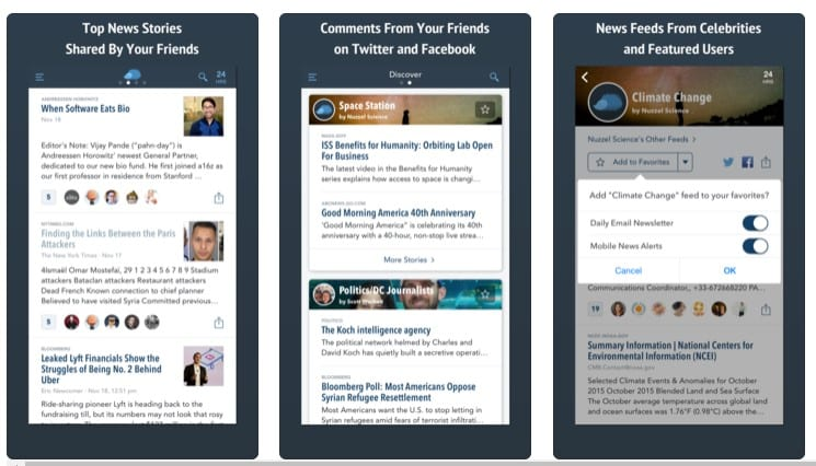 Nuzzel: News for Professionals