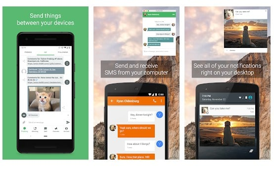 Pushbullet App For Android