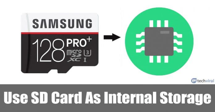 Here's How To Use SD Card As Internal Storage On Android