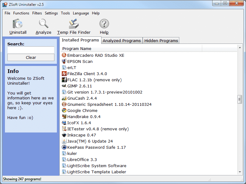√ 15 Aplikasi Uninstaller Memudahkan Menghapus Program - ZSoft Uninstaller