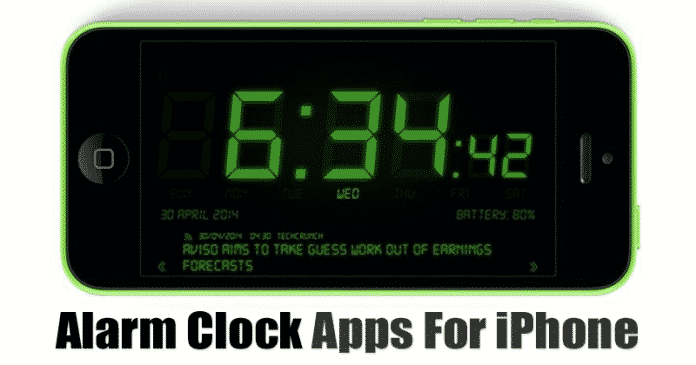 10 Best Alarm Clock Apps For iPhone in 2020