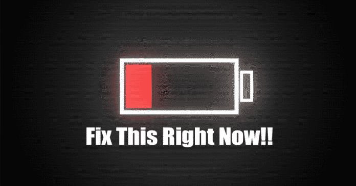 Here's How To Fix The Android Bug That's Draining Your Battery