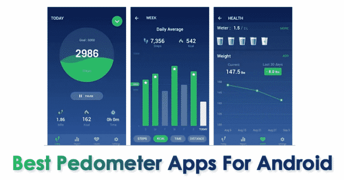 Top 10 Best Pedometer Apps For Android 2019