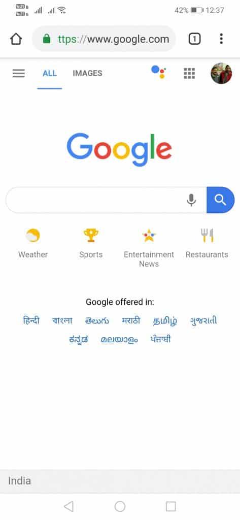 Cara Perbesar Ukuran Teks (Tulisan) di Chrome Android - Chrome text scalling 4