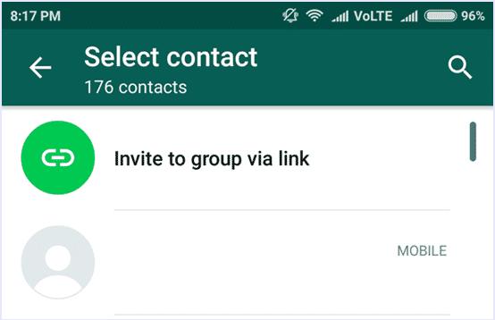 Group Invitation